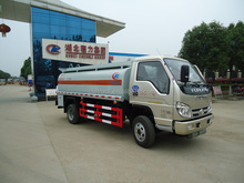 Low price Foton Mini 4000litres fuel tank truck for sale, 4x2 fuel tank truck manufacturers