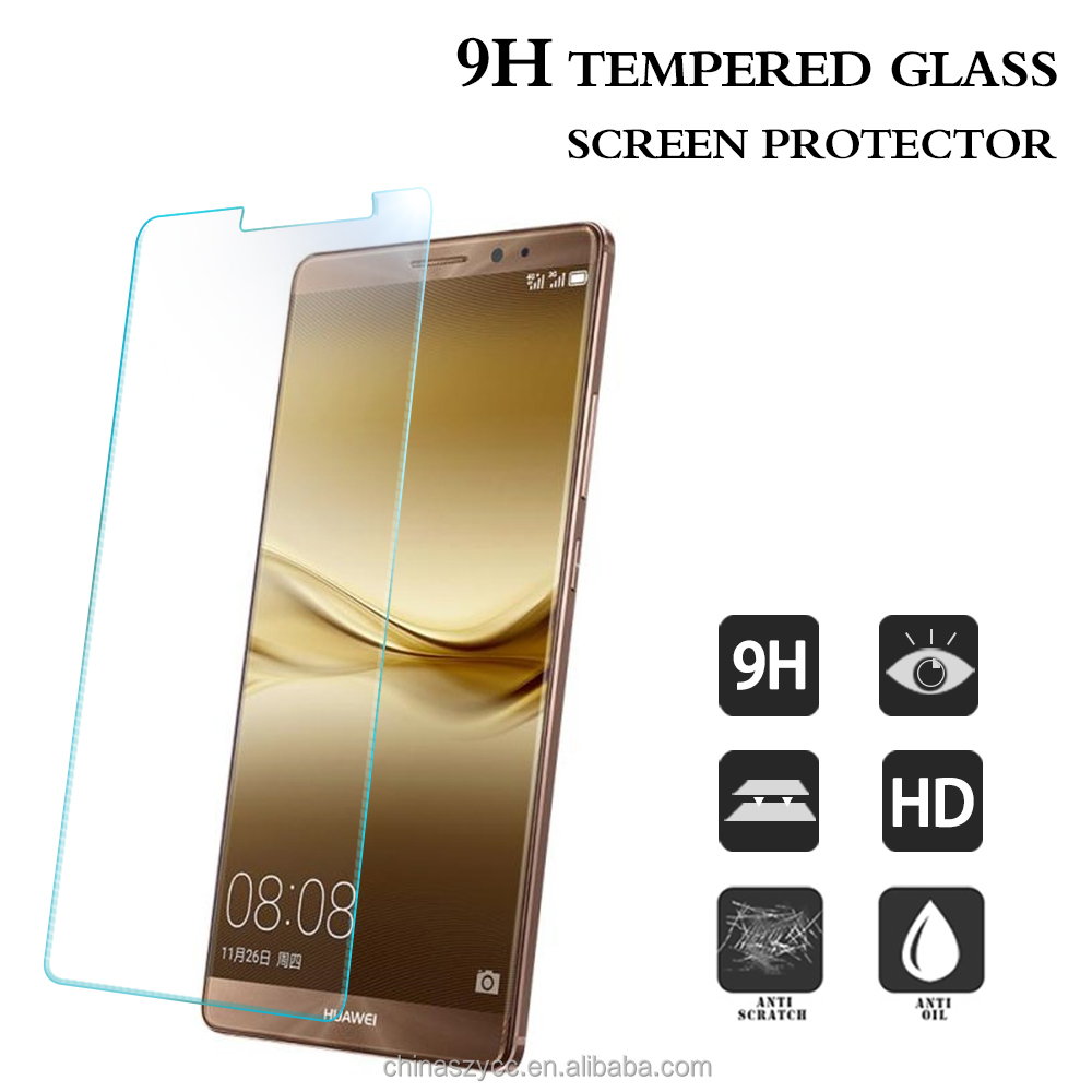 Hotsale Japanese blue light film anti reflection lcd protector film tempered glass screen guard for Huawei Mate 9