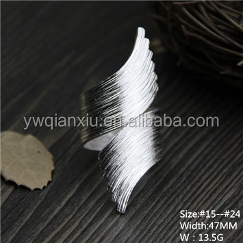 Direct wholesale costume jewelry China natural stone 925 silver rhodium plated men finger ring jewelry