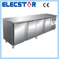 4 door stainless steel ventilated refrigerated restaurant counter