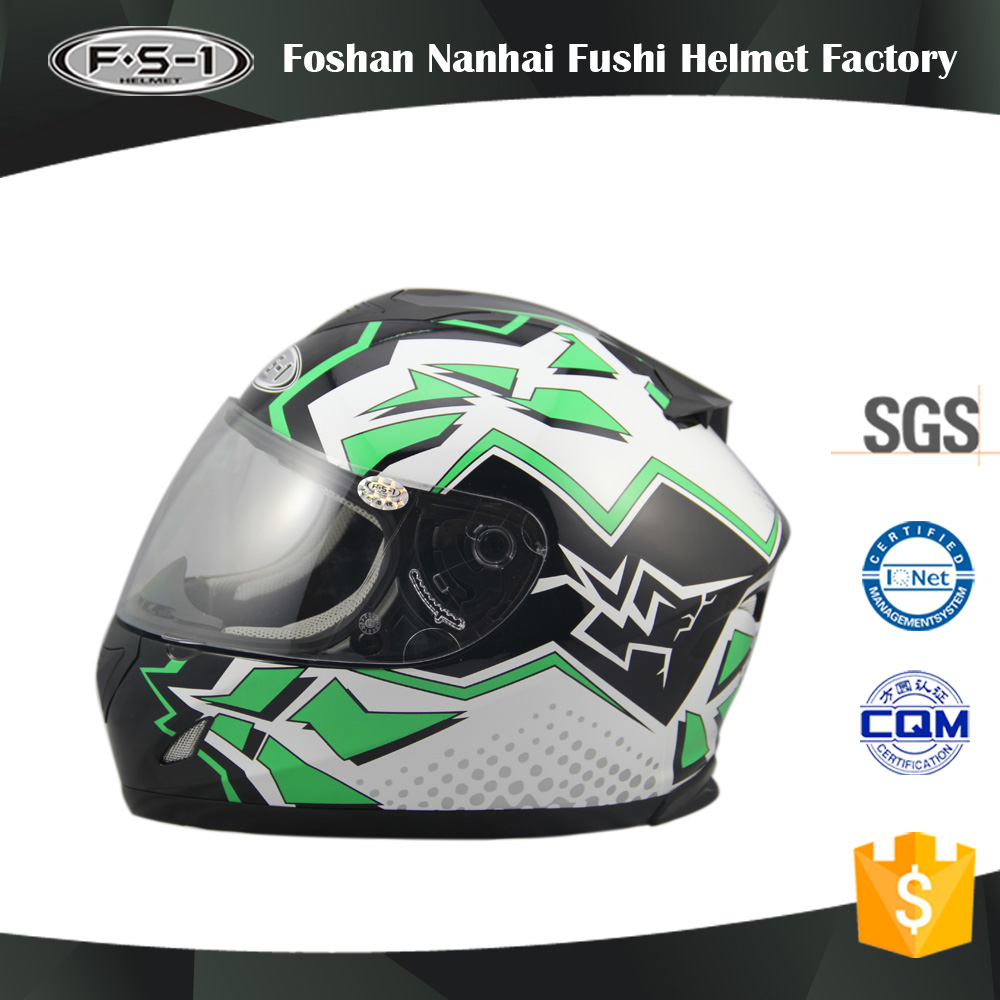 Full face helmet available in various sizes ABS German DOT motorcycle helmet prodator for sale