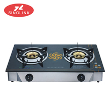 Commercial Gas Stove Double Burner for Cooking