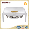 Catering Buffet Equipment Electric Dish Warmer Use Fuel Food Chafer