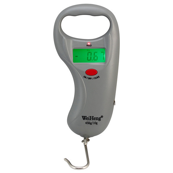 100 cm tape measurement 45 kg LCD display electronic luggage scale