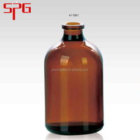 100ml glass bottle injection