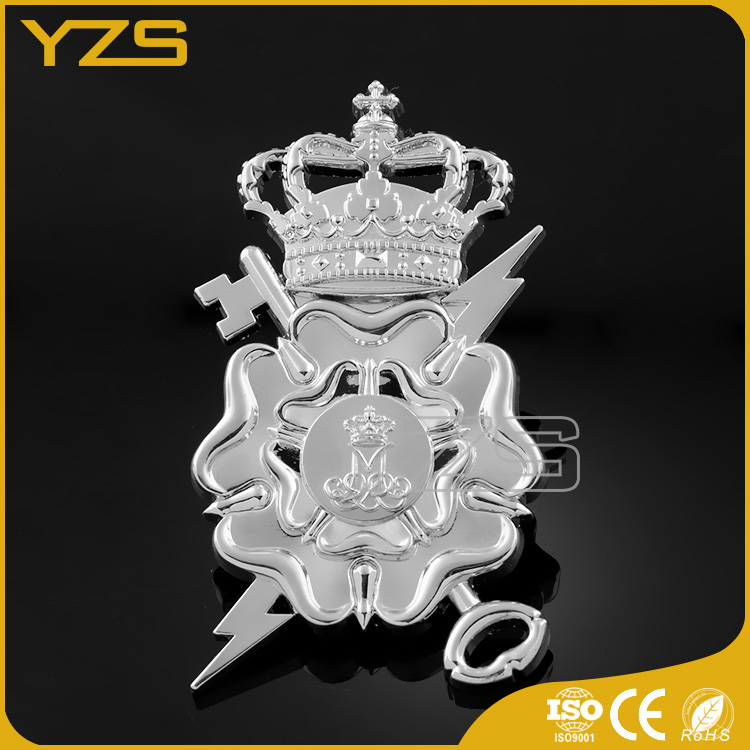 factory custom embossed car badge emblem