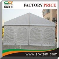 Promotion party tent marquee tent pavilion tent with white PVC sidewall and window cover for sale