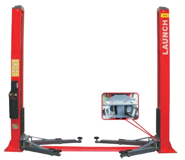 TLT235 SB Economical Floor Plate 2 Post Lift portable lift car t0y0ta cars