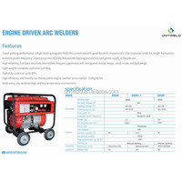 Welding Machines, Outdoor Generator Driven ARC Welder, Honda Petrol Engine & 6.5L Oil Tank