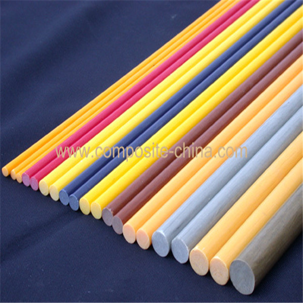 Flexible Insulated Extruded Colorful Fiberglass Rods, Cheap Fiberglass Fencing Bars