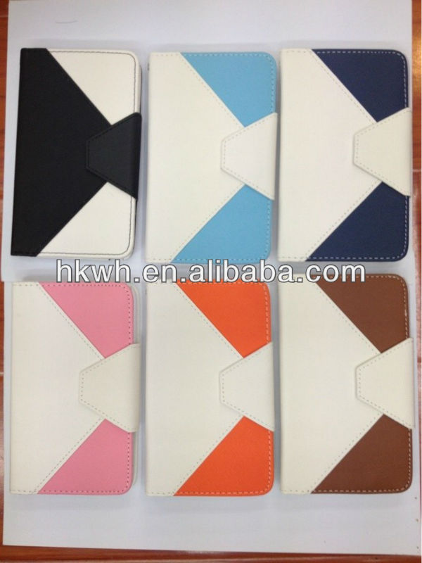 Geometrical Designs Flip Case With Magnet Closure for iphone 5
