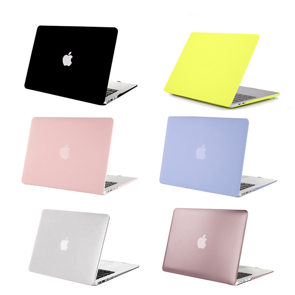 "C&T Clear Rubberized Hard Case Cover For Apple MacBook Pro 13.3"" Retina"