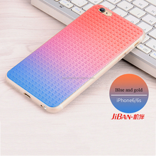Promtion super light Ombre color shiny bling high quality universal soft silicone custom for iphone 6 6plus smart phone case