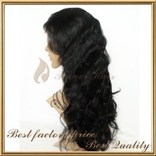Wholesale thick human hair wig european hair jewish wig