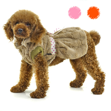 Fashion Dog Clothes Warm Supersoft plush Winter Dog Dress wholesale[PTS-016]