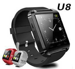 [somostel] Original Bluetooth smart watch U8 mobile smart watch phones U8 watch