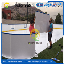 Plastic Boards synthetic Ice Rink For Roller Skating Ground And Barrier