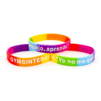 Custom party supply color wristband