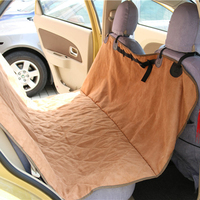 100% Polyester Microfiber dog car seat cover