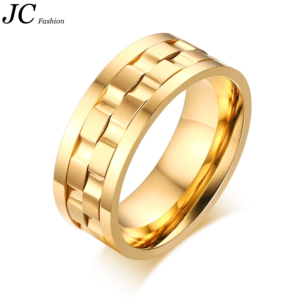 Stainless Steel Gold Ring Designs for Men <strong>Price</strong> Wholesale
