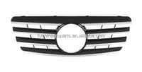 W210 Front Black Grille for Mercedes E class Grill 2000-2002
