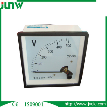 96*96 series Moving Iron Instruments voltmeter