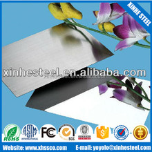 high quality of 201 304 mirror polish stainless steel sheet for decoration