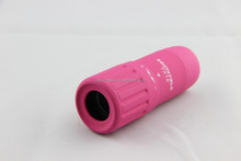 HM04 promotional gift pink telescope for lady