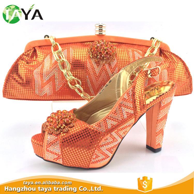 Attractive Price New Type High-Class African Shoes And Bags Made In Italy