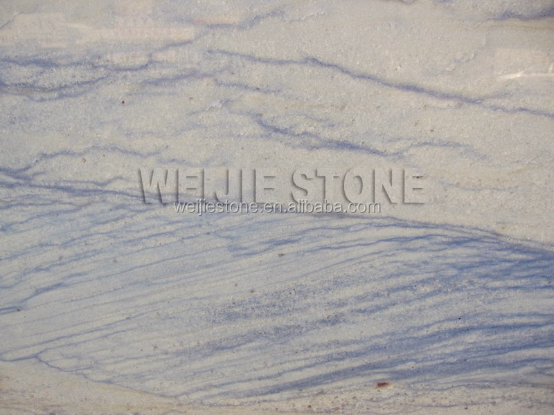 Sea Wave Veining Blue Marble stone for background decoration tile design
