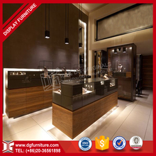 Costom Design Retail Jewelry Wooden Display Jewelry Store Furniture Design