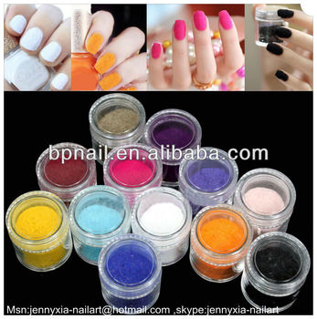 Nail art Velvet Flocking powder