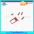 Fashion Red Color Sim Card Tray Holder Side Keys for iPhone 6