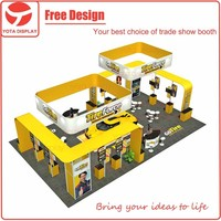 Yota offer Go Tire, 6x15m yellow aluminum practical display solutions, for auto exhibit