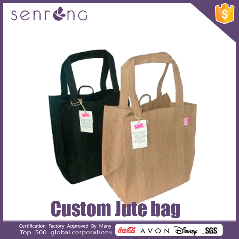 Cheap Jute Tote Bags Used Burlap Jute Bag