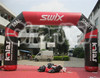 2016 NEW design customized PVC small inflatable entrance arch arch for running game