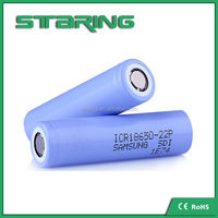 Samsung 18650-22p top sale winner battery new arrival 2200mah with flat top