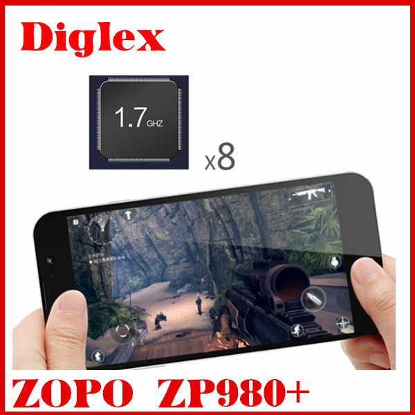 original 5inch FHD ZOPO ZP980+ octa core android 4.2 cell phone in stock