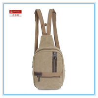 New fashion high quality canvas back bag for men