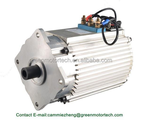 Brushless Ac Electric Car Motor 48v 60v 72v 96v Rated