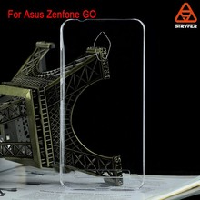 Smart Sleeping Case PU Leather Cover for Asus Zenfone GO,transparent soft shell case for Asus zenfone ZC500TG