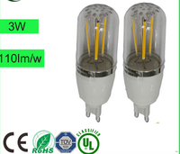 A60 E27 7W Warm White/White led g9 bulb replacement 40w halogen