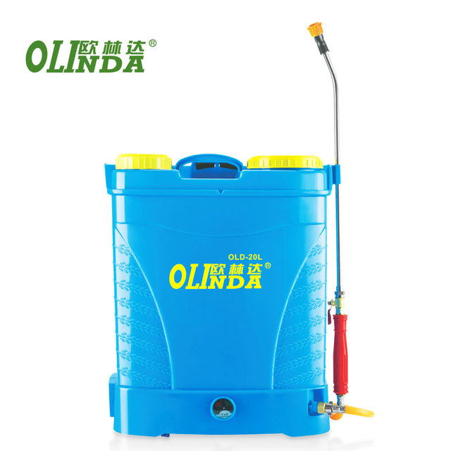 China manufacturer agricultural farm hills garden grapes electric spray machine colorful 16 18 20L battery sprayer for sale