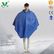 colorful raincoat lady jacket outdoor poncho safety rainwear blue rain poncho