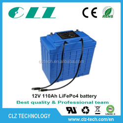 Excellent cycle life 12V 40ah/110ah/170ah lithium ion car battery
