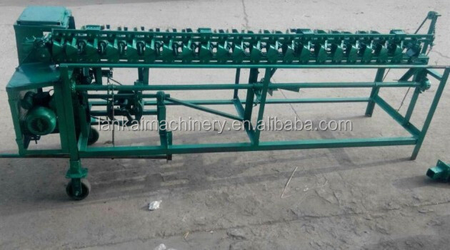 new type Reed rod curtain knitting machine produced any size made as order/machine for reed rod