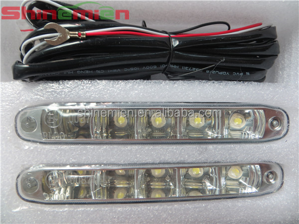 10W 5LED Daytime Running Light LED car Fog lights Aluminium DRL