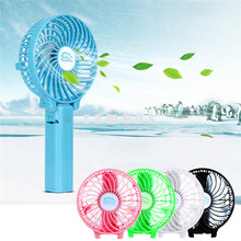 Low Price 5V Rechargeable Table Battery Fans Portable Handheld Mini Electric Cooling Fan with Metal Clip