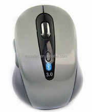 Gray Color Bluetooth Wireless USB Mouse - MBT-002