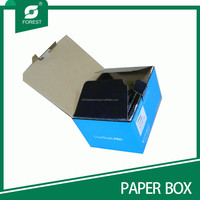 2015 BLUE CARDBOARD CORRUGATED SMALL CARTON BOX EP835622